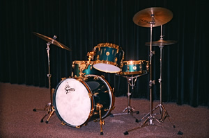 "David Clive - Gretsch Cadillac Green 125th Anniversary ""Progressive Jazz"" Drum Set"