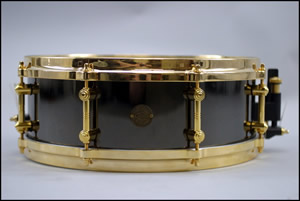 David Clive - 2004 Gretsch New Classic Black Beauty Snare Drum