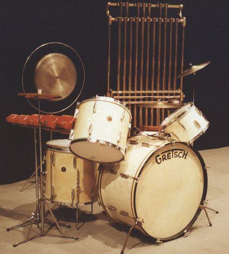 David Clive - Vintage Drum Rentals - 1935 Gretsch Broadkasters