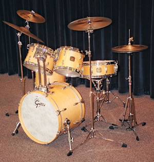 David Clive - 1980s Gretsch Maple Drum Set