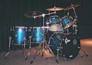 David Clive - Gretsch New Classic Drum Set in Ocean Sparkle Burst