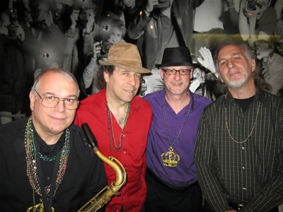 David Clive with Seth, Len, and Mike March 2014