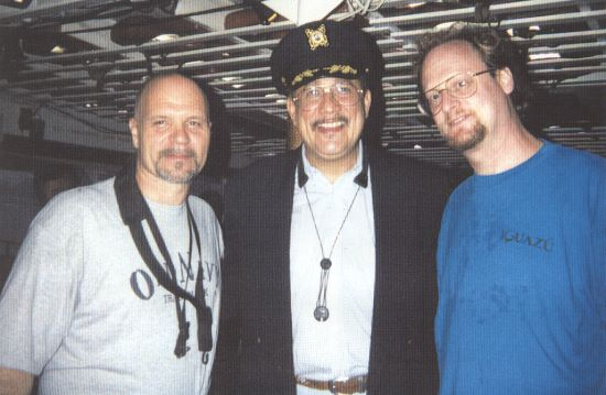 Dave with Tom Pascale and Paquito D'Rivera