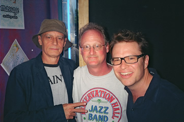 Dave with Johnny Vidacovich and Stanto Moore