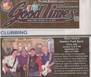 David Clive Press - Good Times